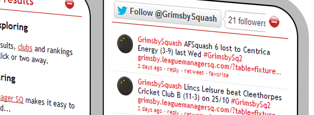 Grimsby & District 3 Man Squash League