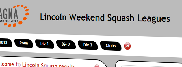 Lincoln Weekend Squash Leagues